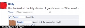 Funny facebook fails 50 Shades of Green