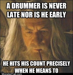 If Only Most Drummers Were Like This