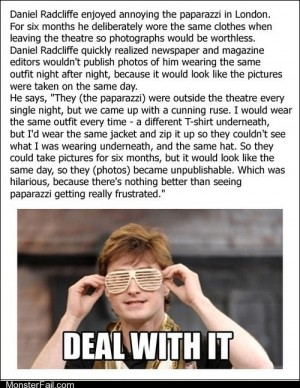 Art of Trolling Harry Potter and the Useless Photograph