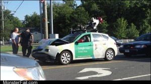Monster fail Google Street View FAIL