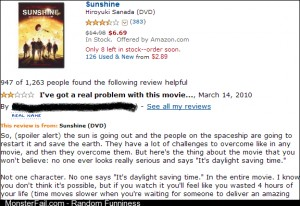 This review does make a very good point about the movie