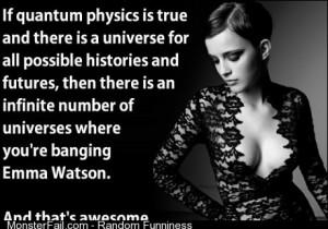 Weve all banged Emma Watson