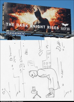 Cool Dark Knight Rises billboard