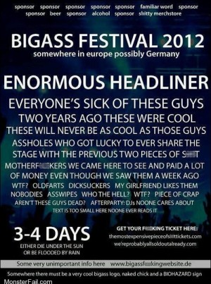 Music Festival Concert Lineup Announced