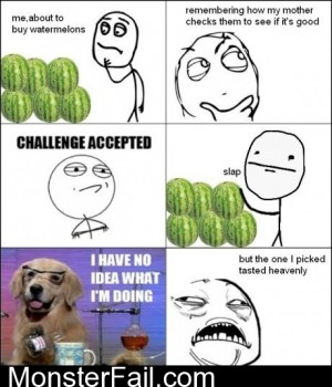 Buying A Watermelon