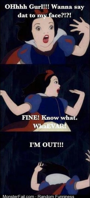 Ghetto Snow White