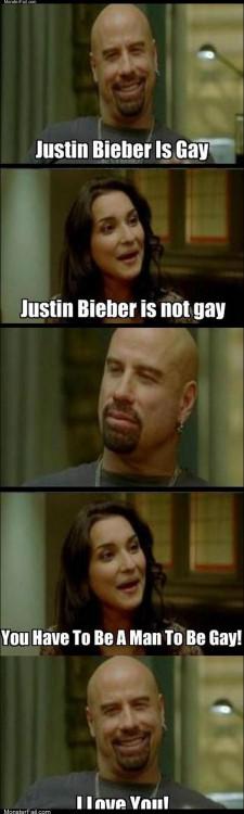 Justin bieber is gay