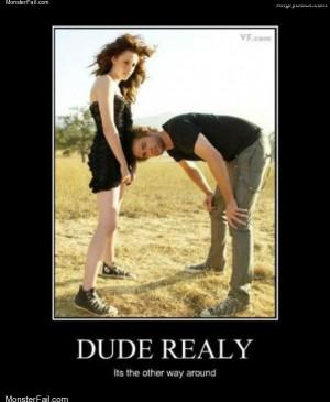 Dude really