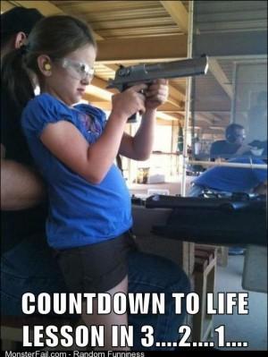 Meanwhile at the gun range