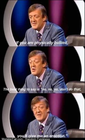 Stephen Fry has got it right