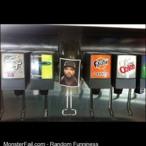 Ice icecube humour funnypics beverages nandos