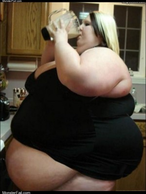 Her milkshake