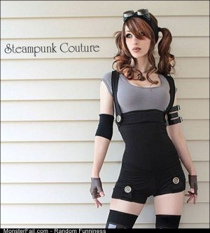 Funny Pics Steampunk Cosplay