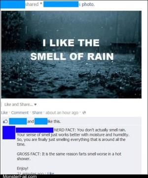 Funny facebook fails Rain Farts