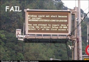 Fail windows Fail