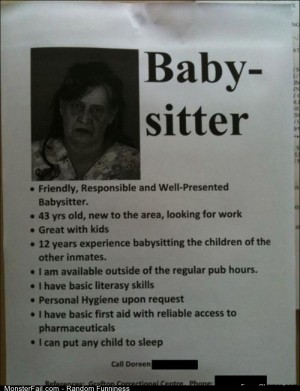 Fail amazing Baby Sitter