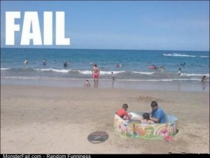 Fail swimming Pool