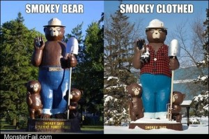 Smokey Before and After