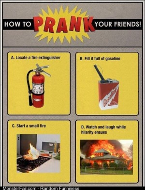 A great prank
