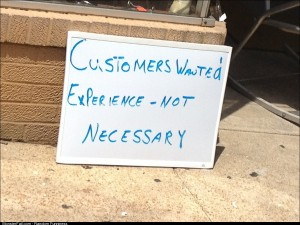 Customers needed
