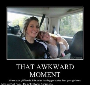 Demotivational  Motivational That Awkward Moment