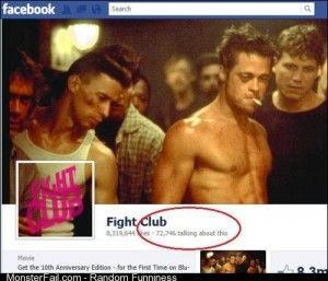 The first rule of Fight Club