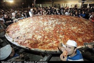 Funny Pics Monster Pizza