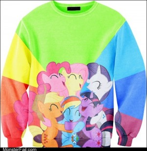 Fashion fail Poorly Dressed My Little Pony Friendship is Sweaters