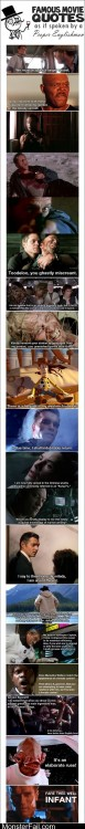 Famous Movie Quotes Like A Sir