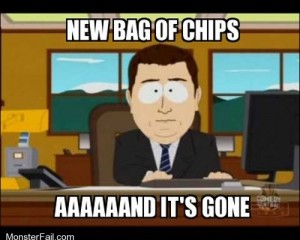 Everyones Your Friend When Youve Got Chips