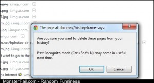 What are you trying to say here Chrome