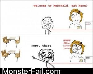 McDonalds Trolling