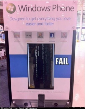 Fail windows Phone