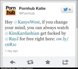Nice one Pornhub