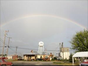 What a purdy rainbow