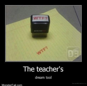 WTF or Trolling Teacher