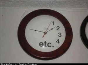 Apathetic Clock