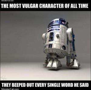 Very vulgar