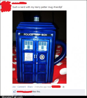 Funny facebook fails The Millennium Falcon Mug