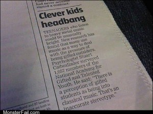 Headbanging Leads to Bangin Brains