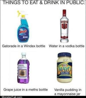 A Meths Bottle