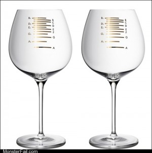 Musical Wine Glasses to Play as You Get Drunk