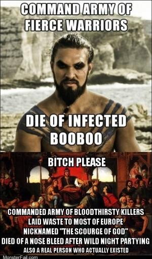 Drogo vs Attila