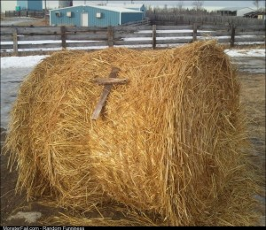 Christian Bale rolled through my town too