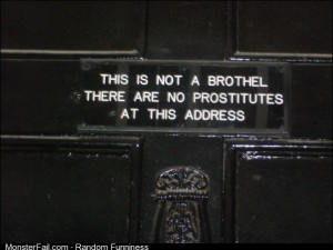 Saw this sign on a door in London
