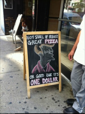 Best restaurant promotion ever