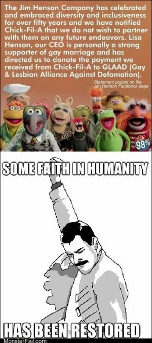 My Faith in Muppets is Unshakable