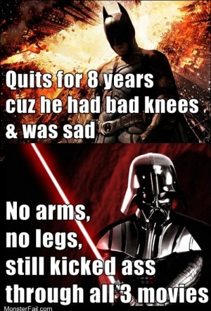 The Dark Side Doesnt Offer Longterm Disability
