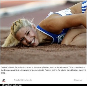 Ridiculously Photogenic Olympian Girl