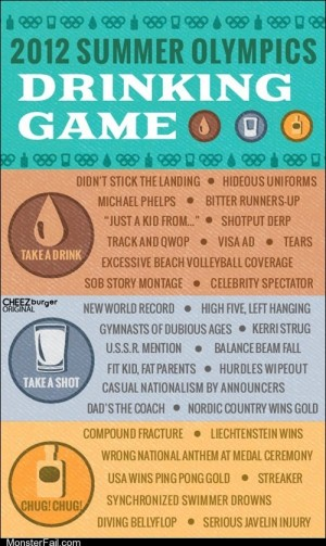 London Olympics 2012 ROFLympics 2012 2012 Summer Olympics Drinking Game